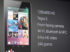 Google nexus tablet 7 comes with quad core processor, 7 inch 1280*800 full HD full screen resolution, 1.2 mega pixel front facing camera and many other interesting and useful features.