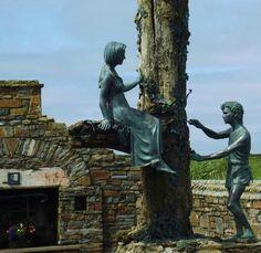 """✿ڿڰۣ Loop Head """"The Tree Of Love"""" Co. Clare, Ireland. Inspired by the legendary love story of Diarmuid and Grainne."""