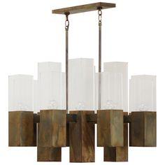 1stdibs - Robert Long Bronze Chandelier explore items from 1,700  global dealers at 1stdibs.com