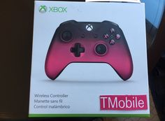 Concept T-Mobile branded Xbox controller