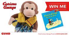 Broccoli Slaw, Curious George, Giveaways, Plush, Teddy Bear, Toys, Gaming, Games