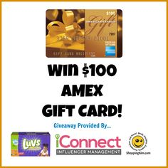 Win $100 AMEX Gift Card!