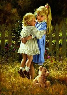 """Big Sister"" by: Jim Daly……..NEVER HAD ONE - BUT ALWAYS WANTED ONE…….MY BIG BROTHER TOOK SUPER-GOOD CARE OF ME -- SO, GUESS I REALLY DIDN'T MISS A WHOLE LOT…………ccp"