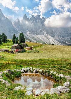Dolomites, northern Italy
