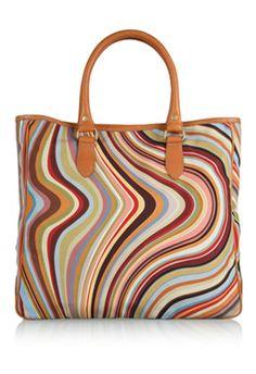 Paul Smith, stripes on bag