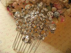Bella Victorian Swarovski rhinestone crystals by weddingvalle, $24.00