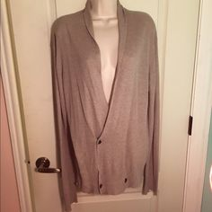 AllSaints Beige Cardigan AllSaints beige cardigan size large pre-owned but in very good condition. All Saints Sweaters Cardigans