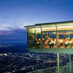 Enjoy dining with a fantastic view from the Panoramarestaurant in Dornbirn, Vorarlberg Austria Vacation Places, Places To Travel, Places To Visit, Places Around The World, Travel Around The World, Around The Worlds, Austria Travel, Germany Travel, Travel Music