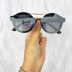 Oculos Heart Preto Shine