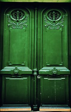 where do they lead? & Emerald Green Door | Going GREEN | Pinterest | Emeralds Doors and Envy