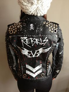 Rock jackets by Chad Cherry from Chad Cherry Clothing.