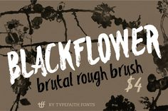 FREE DOWNLOAD! Blackflower by TypeFaith Fonts on Creative Market