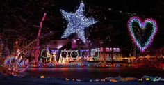 #Christmas records: New York family regains Most Lights on a Residential Property world record this year.