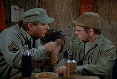M*A*S*H: Season 6, Episode 9 Images (15 Nov. 1977) 4077, mash, Gary Burghoff , Corporal Walter Eugene O'Reilly, John Durren, Sgt. Rimmerman