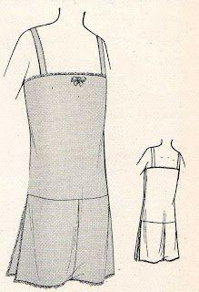 The Vintage Dressmaker  1920 s Undergarments Part 2 Lencería Vintage 26d79cb6fd3