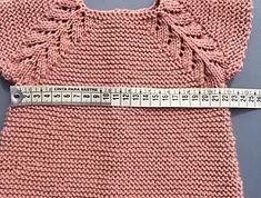puntomoderno- vestido-Lucía Baby Knitting, Crafts To Make, Crochet Bikini, Reusable Tote Bags, Clothes, Babies Fashion, Knits, Maya, Bb