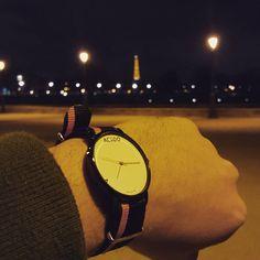 Black & Orange straps / black case - Be mad, Be Elegant #wrist #watches #timepiece #timepieces #instacool #instafashion #minimalistic #love #madness #elegant