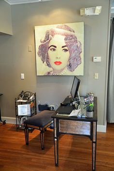 Monument Style | Great reception area | Shop hair salon products at www.standishsalongoods.com