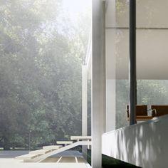 Farnsworth HOUSE — Ludwig Mies van der Rohe