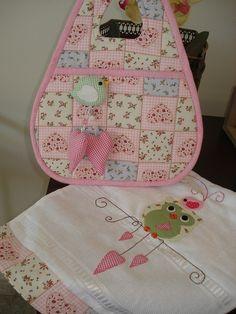 Owl themed baby decor