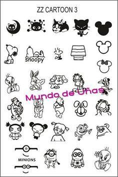 Munda de unas - zz cartoon 3