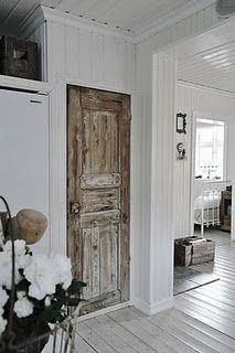 old pantry door - Will be going to Canton before we build to find something character touches!