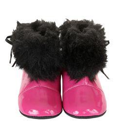 Girlsles Joules Noir Bottes Taille UK 12