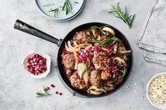 AURA lihapulla-sienipannu Iron Pan, Bolognese, Meat, Kitchen, Food, Lasagna, Cooking, Kitchens, Essen