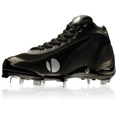 SALE - Mens Verdero 3Q Baseball Cleats Black Mesh - Was $104.99 - SAVE $35.00. BUY Now - ONLY $69.99