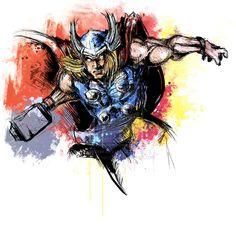 Thor by ~VVernacatola on deviantART
