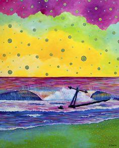 """Julie's Discovery"" by Carolina Coto. You can see more at www.carocoto.com and www.facebook.com/ArteCarolinaCoto"