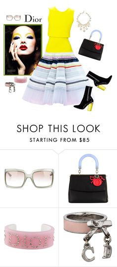 """It's Dior, darling"" by juliabachmann ❤ liked on Polyvore featuring Christian Dior Haute Couture and Christian Dior"