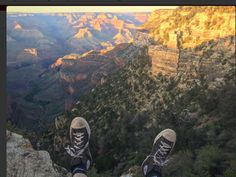Grand Canyon ft dirty converses