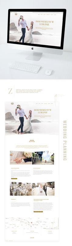 Wedding House website, web design, isnpiration, idea, love, simply, minimalist https://www.behance.net/gallery/60688697/Wedding-House-website
