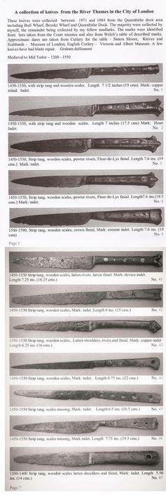 London knives 13th - 17th