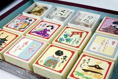 Cute japanese candy box