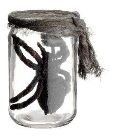 This Spider Jar Décor is perfect! #zulilyfinds