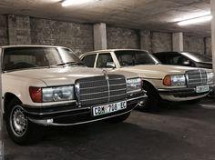 Mercedes W116 350SE & W123 240D
