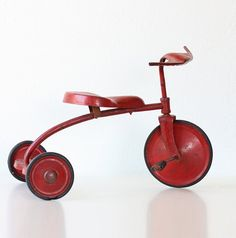 Vintage Red Tricycle