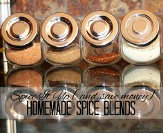 Spice It Up with Homemade Spice Blends