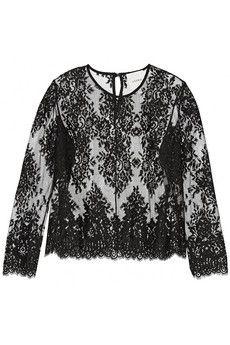 Mason by Michelle Mason Cotton-blend lace top | THE OUTNET