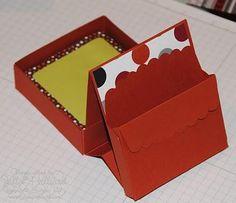 Shoebox Crafts : DIY Post-It Note desk Box FREE