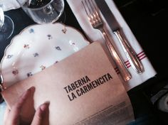 Lunch un Madrid. La Carmencita