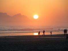 Strand beach in Western Cape