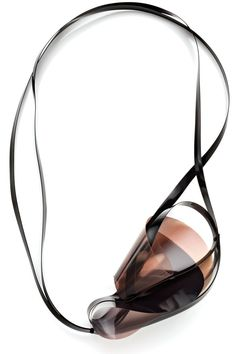Ioanna Natsikou - Alchimia scuola di gioielleria, Florence, Italy - necklace, Epithumia, 2013, transparent film, plastic, vinyl