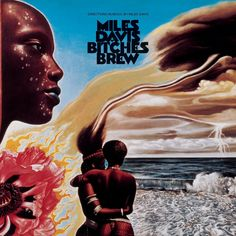 MILES DAVIS - Bitches Brew - This album was a triumph for Miles Davis later in his career in 1970. Two drummers, two bassists, three keyboardists consisting mostly of free spontaneous electric improvisation. Also for the first time, the recording tape was sliced and diced a bit in the studio to make certain parts repeat and to add effects which was unheard of on a jazz record. Yet even with all that... or maybe because of all that... it is Miles' second best selling album of all time behind…