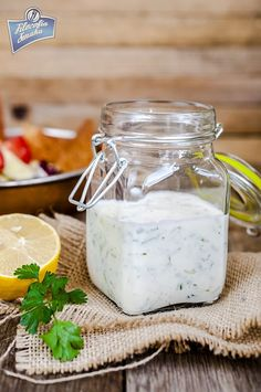 Sos ranczerski Dips, Polish Recipes, Ranch Dressing, Grilling, Bbq, Spices, Food And Drink, Yummy Food, Vegetables