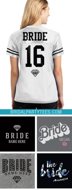 Check out our list of the best bride shirts and customize one today for your wedding!