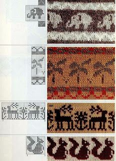 Jacquard does not happen much - for beads, knitting, weaving and dot painting. Discussion on LiveInternet - Russian Service Online Diaries Fair Isle Knitting Patterns, Knitting Charts, Knitting Stitches, Baby Knitting, Motif Fair Isle, Fair Isle Chart, Fair Isle Pattern, Graph Design, Chart Design