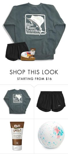 """rtd -- and pray!"" by oliviajordyn ❤ liked on Polyvore featuring NIKE, Yes To and UGG"